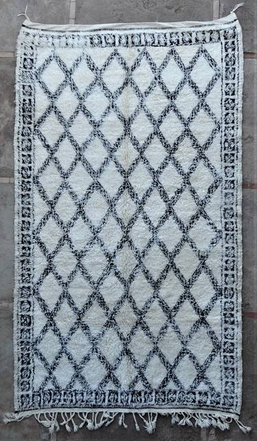 WOOL Rugs - BENI OURAIN Beni Ourain and Middle Atlas Antique moroccan rugs BOA46274