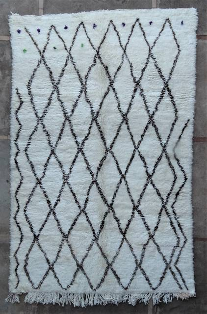 Villamatot – Beni Ouarain  Beni Ourain and Middle Atlas (antique) moroccan rugs BOA46280