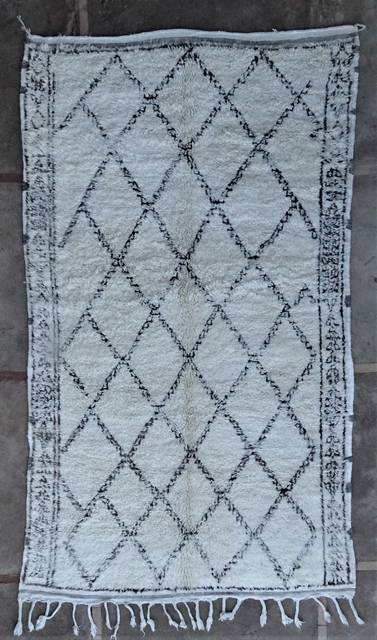 WOOL Rugs - BENI OURAIN Beni Ourain and Middle Atlas Antique moroccan rugs BOA46286