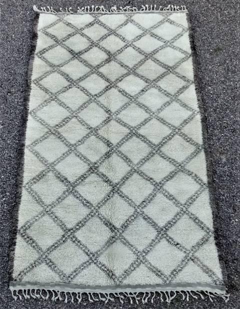 Villamatot – Beni Ouarain Beni Ourain moroccan rugs BOA46291 au Maroc colletion personnelle