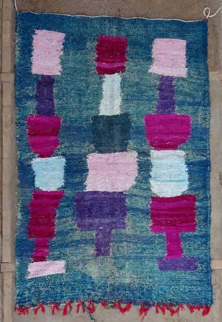 BOUCHEROUITE Boucherouite Kilims moroccan rugs KC47005