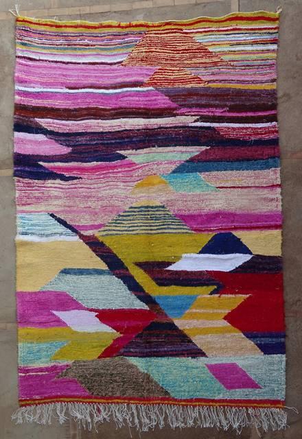 BOUCHEROUITE Boucherouite Kilims moroccan rugs KC47006