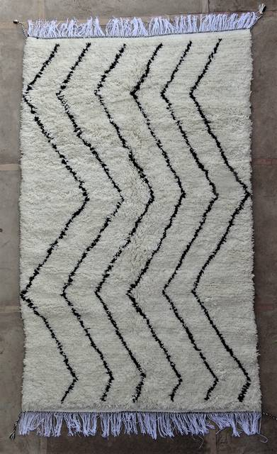 WOOL Rugs - BENI OURAIN Azilal and Ourika moroccan rugs AS47007