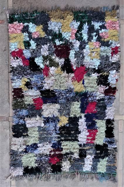 BOUCHEROUITE Boucherouite Medium moroccan rugs T47025