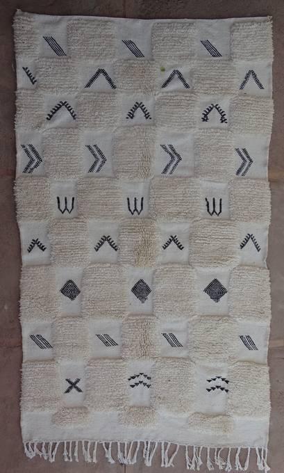 WOLLTEPPICHE - BENI OURAIN Beni Ourain Teppich BO47051/MA