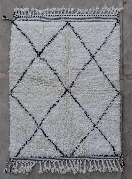 WOOL Rugs - BENI OURAIN  moroccan rugs BO47063/MA