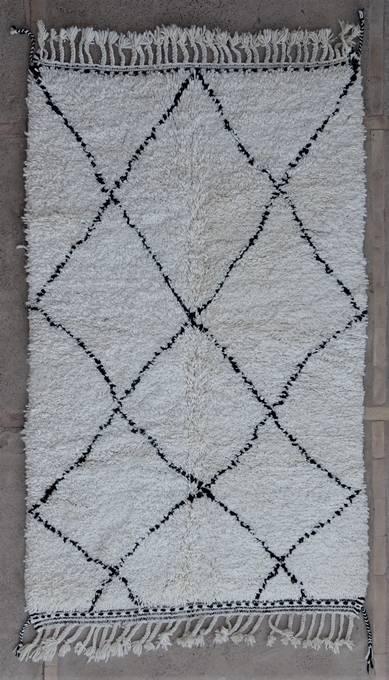 WOOL Rugs - BENI OURAIN Beni Ourain moroccan rugs BO47069/MA