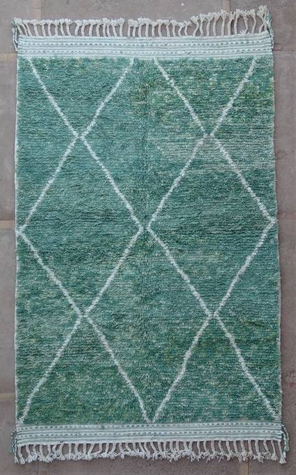 WOOL Rugs - BENI OURAIN Boujad and coloured Beni Ourain moroccan rugs BO47071/MA