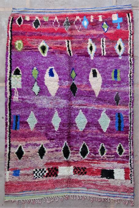 Archive-Sold Beni Ouarain moroccan rugs BJ47081