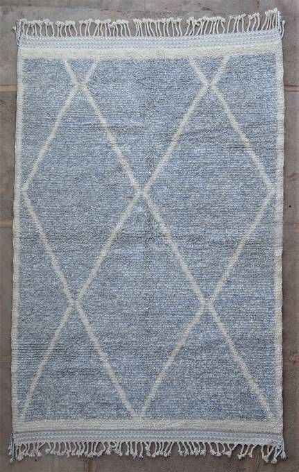 WOOL Rugs - BENI OURAIN Boujad and coloured Beni Ourain moroccan rugs BO47091/MA