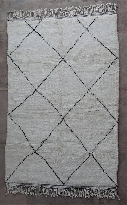 WOOL Rugs - BENI OURAIN Beni Ourain moroccan rugs BO47097/MA