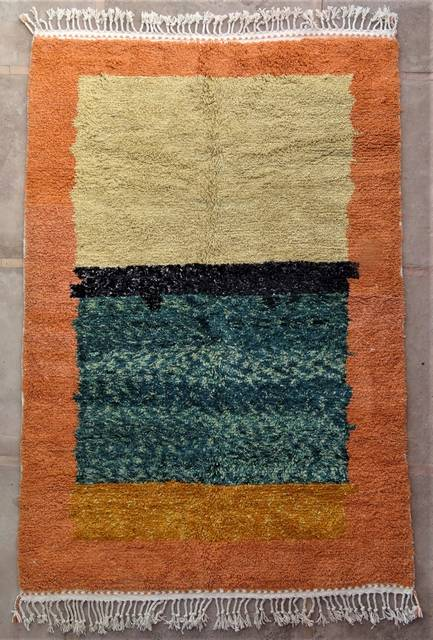 WOOL Rugs - BENI OURAIN Boujad and coloured Beni Ourain moroccan rugs BO47100/MA