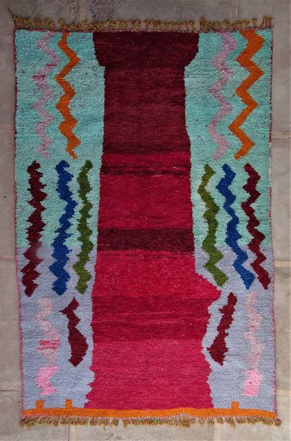 WOOL Rugs - BENI OURAIN Boujad and coloured Beni Ourain moroccan rugs BO47102/MA