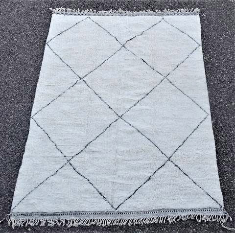 WOOL Rugs - BENI OURAIN Beni Ourain moroccan rugs BO46226/MA