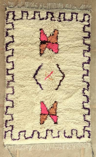 WOOL Rugs - BENI OURAIN Azilal and Ourika moroccan rugs AS48000