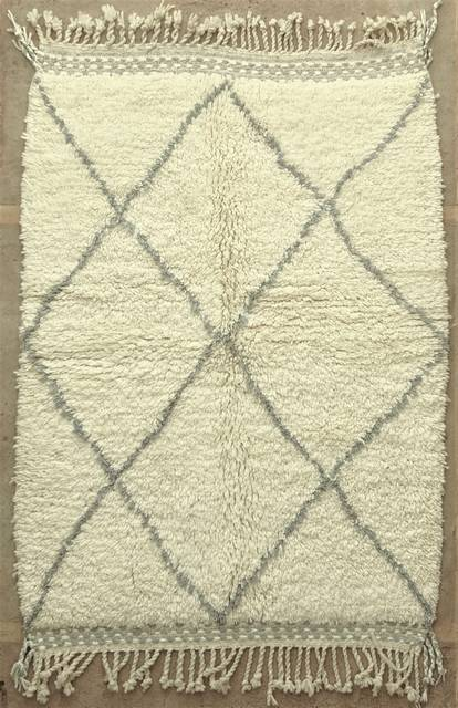 WOOL Rugs - BENI OURAIN Beni Ourain moroccan rugs BO48011/MA