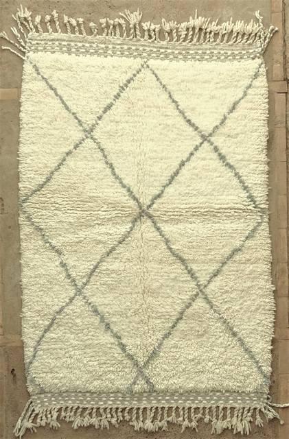 WOOL Rugs - BENI OURAIN Beni Ourain moroccan rugs BO48014/MA