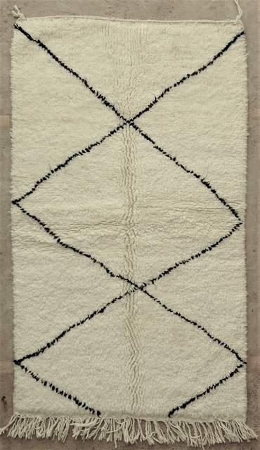 WOOL Rugs - BENI OURAIN Beni Ourain moroccan rugs BO48015/MA