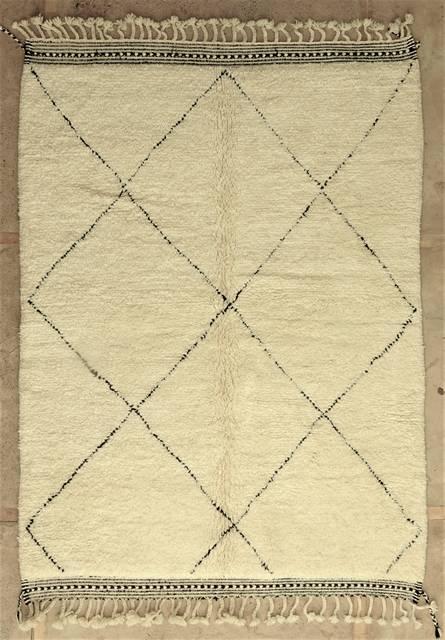 WOOL Rugs - BENI OURAIN Beni Ourain moroccan rugs BO48024/MA