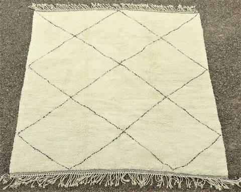 WOOL Rugs - BENI OURAIN Beni Ourain moroccan rugs BO48028/MA
