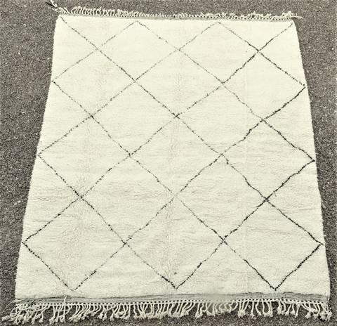 WOOL Rugs - BENI OURAIN Beni Ourain moroccan rugs BO48032/MA