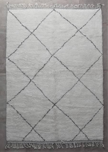 WOOL Rugs - BENI OURAIN Beni Ourain moroccan rugs BO47158/MA