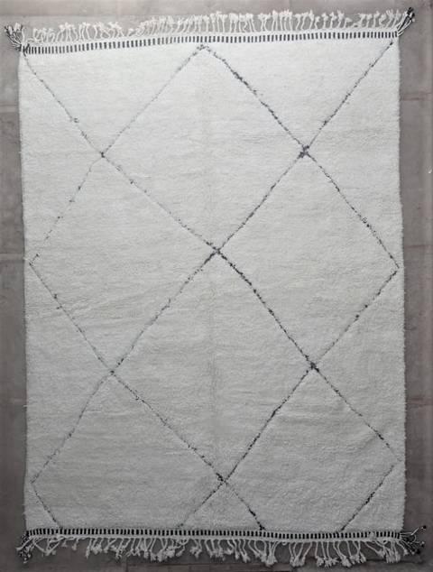 WOOL Rugs - BENI OURAIN Beni Ourain Large sized moroccan rugs BO47159/MA