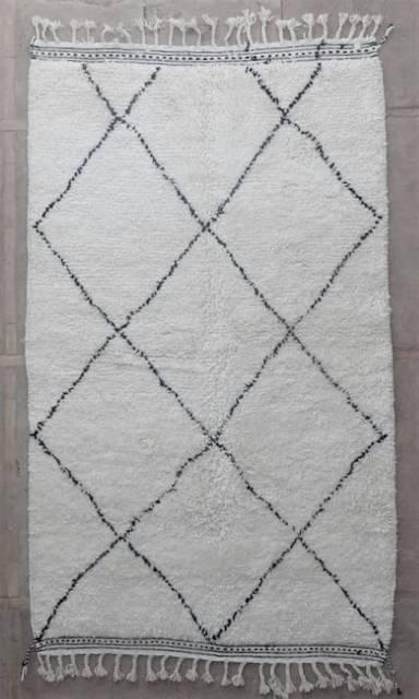 WOOL Rugs - BENI OURAIN Beni Ourain moroccan rugs BBO47164/MA