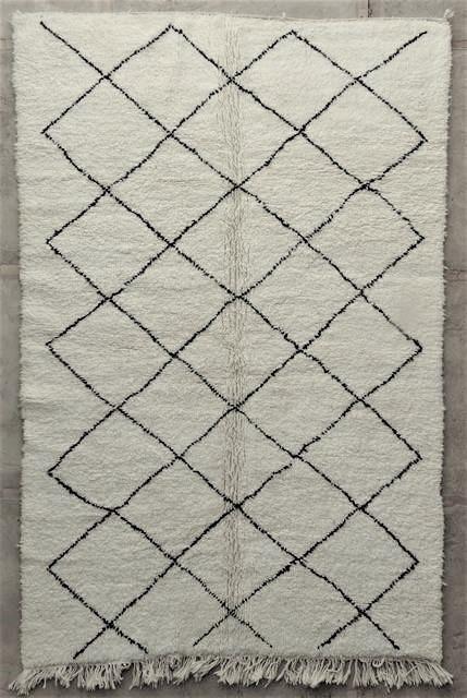 WOOL Rugs - BENI OURAIN Beni Ourain moroccan rugs BO48029/MA