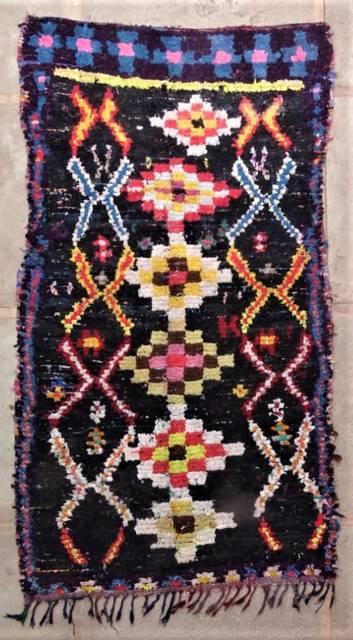 BOUCHEROUITE Boucherouite Large moroccan rugs L47170