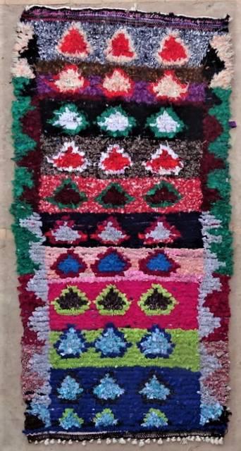 BOUCHEROUITE Boucherouite Medium moroccan rugs T47171