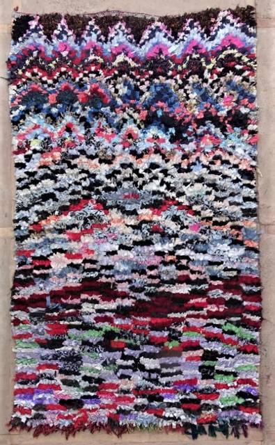 BOUCHEROUITE Boucherouite Medium moroccan rugs T47172
