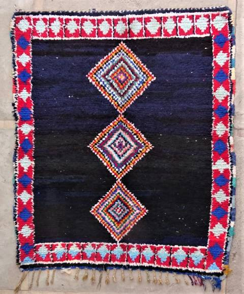 BOUCHEROUITE Boucherouite Medium moroccan rugs T47184