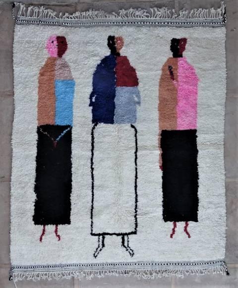Archive-Sold Beni Ouarain moroccan rugs BO47196/MA