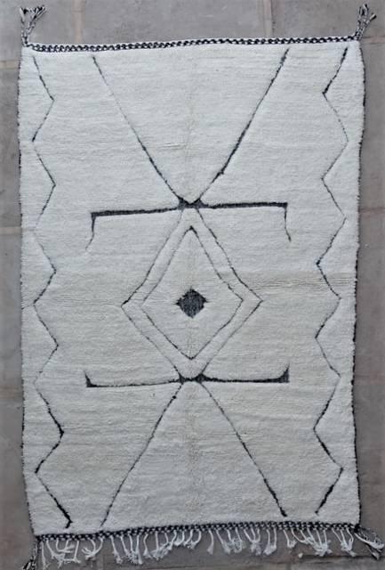 WOOL Rugs - BENI OURAIN Beni Ourain moroccan rugs BO47203/MA