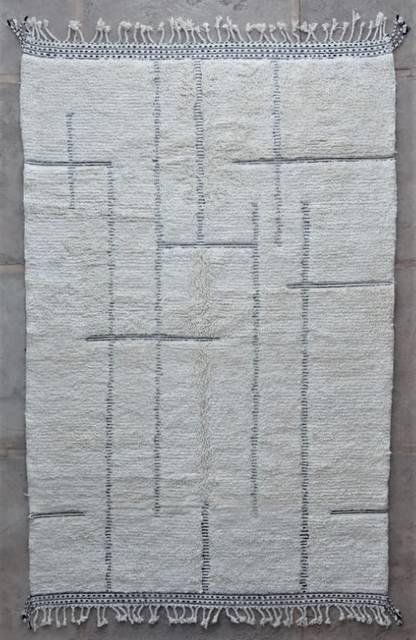 WOOL Rugs - BENI OURAIN Beni Ourain moroccan rugs BO47209/MA