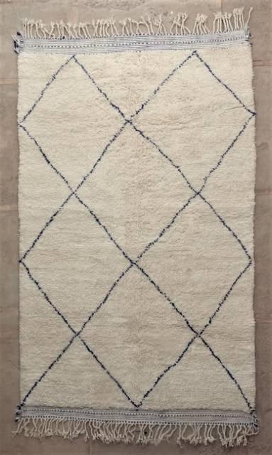 WOOL Rugs - BENI OURAIN Beni Ourain moroccan rugs BO47226/MA