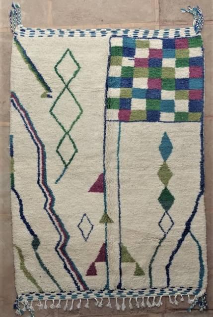 WOOL Rugs - BENI OURAIN  moroccan rugs BO47231/MA