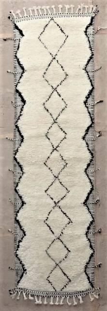 WOOL Rugs - BENI OURAIN Corridor wool rugs ref : BO47241/MA