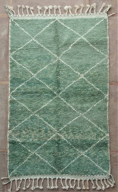 WOOL Rugs - BENI OURAIN Boujad and coloured Beni Ourain moroccan rugs BO48506/MA
