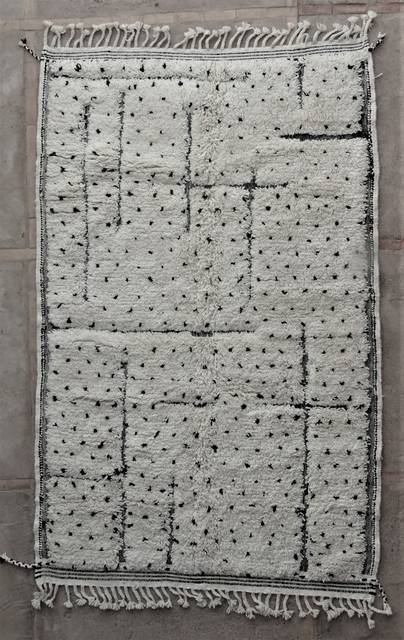 WOOL Rugs - BENI OURAIN Beni Ourain moroccan rugs BO48511/MA