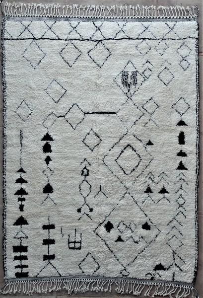 WOOL Rugs - BENI OURAIN Beni Ourain moroccan rugs BO48543