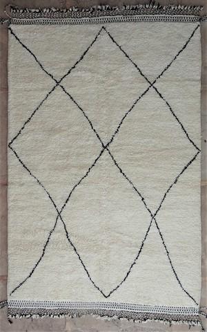 WOOL Rugs - BENI OURAIN Beni Ourain moroccan rugs BO48557