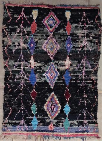 BOUCHEROUITE Boucherouite Large moroccan rugs L48567