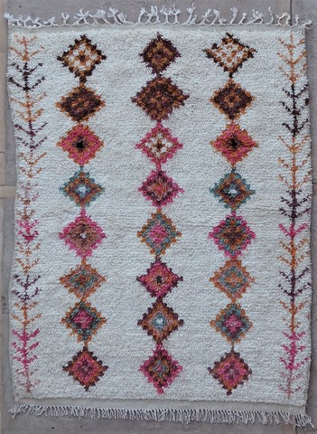 Archive-Sold Azilal and Ourika moroccan rugs BZ48593