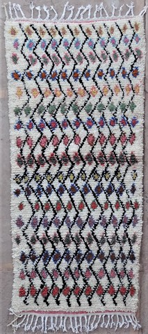 WOOL Rugs - BENI OURAIN Azilal and Ourika ref : BZ48576