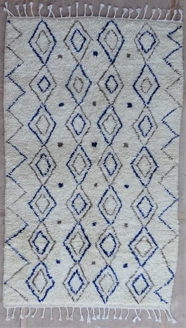 WOOL Rugs - BENI OURAIN Azilal and Ourika ref : BZ48577