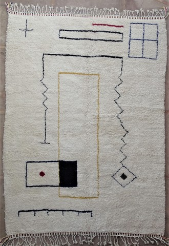 WOOL Rugs - BENI OURAIN Beni Ourain moroccan rugs BO49012