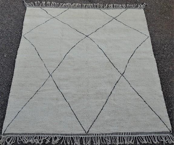 WOOL Rugs - BENI OURAIN Beni Ourain moroccan rugs BO49017
