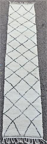 WOLLTEPPICHE - BENI OURAIN Korridor Wollteppiche Teppich BO49019